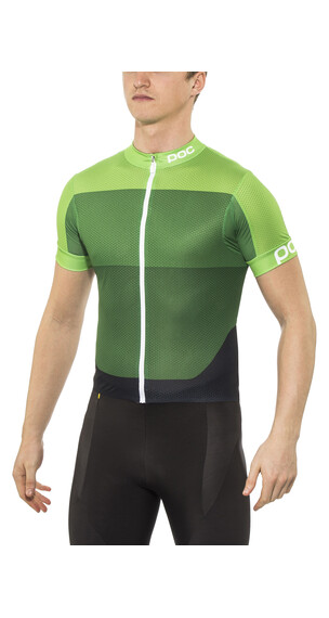 POC Fondo Light Jersey Men pyrite multi green